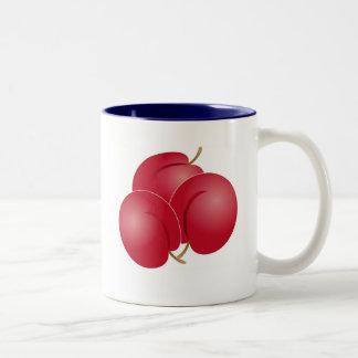 Plums Two-Tone Coffee Mug