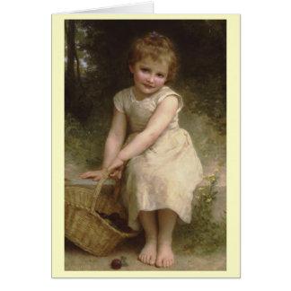 Plums - William-Adolphe Bouguereau Card