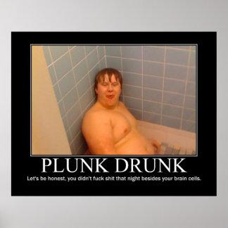 Plunk Drunk Poster