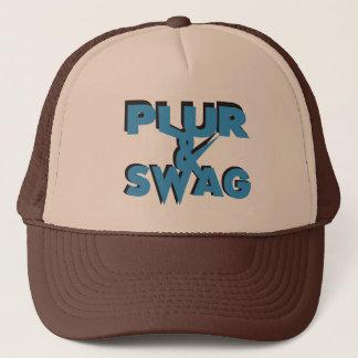 Plur & Swag Trucker Hat