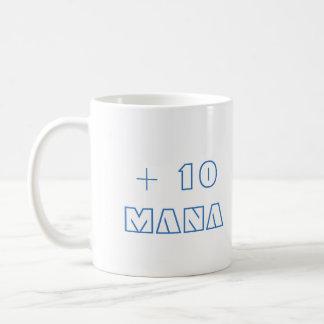 Plus 10 mana coffee mug