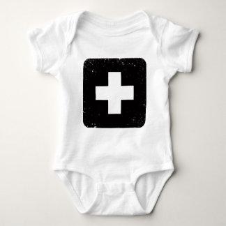 Plus Sign Baby Bodysuit