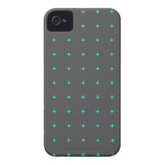 plus sign pattern iPhone 4 Case-Mate case