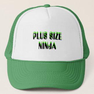 PLUS SIZE NINJA TRUCKER HAT