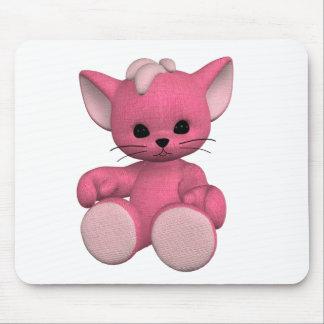 Plushie Kitty Toon Mousepad