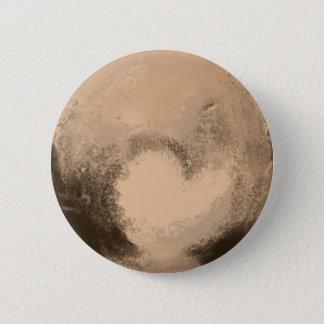 Pluto 6 Cm Round Badge