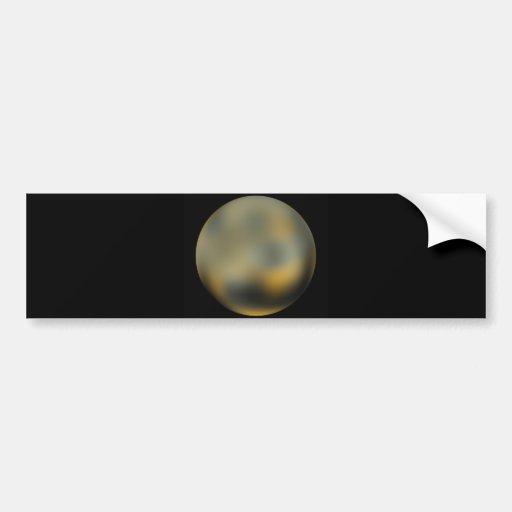 Pluto Bumper Stickers