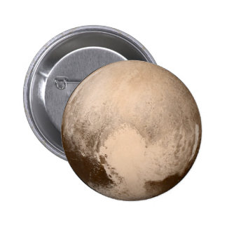 Pluto Heart-View 6 Cm Round Badge