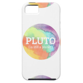 Pluto is Still a Planet Illustration Case Cover For iPhone 5/5S