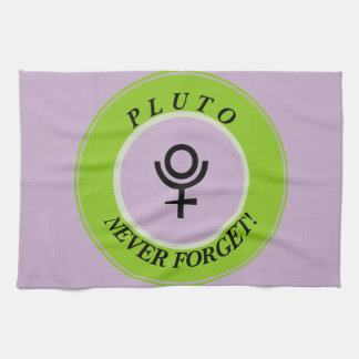 Pluto, never forget kitchen towels
