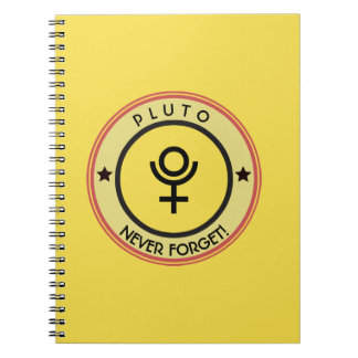 Pluto, never forget notebooks