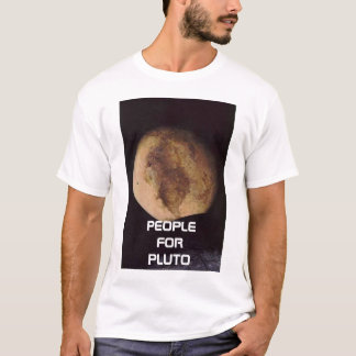 pluto, PEOPLE FOR PLUTO T-Shirt