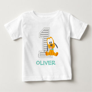Pluto | Personalized First Birthday Baby T-Shirt