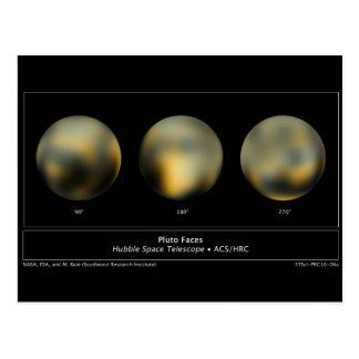 Pluto Planet Postcard