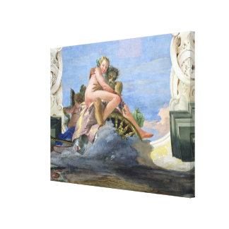 Pluto Raping Proserpine (fresco) Gallery Wrapped Canvas