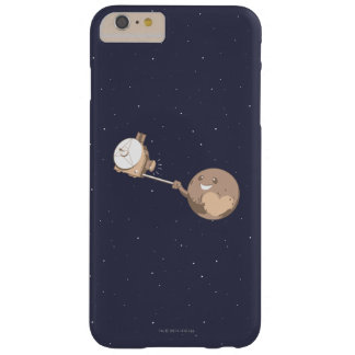 Pluto Selfie Barely There iPhone 6 Plus Case