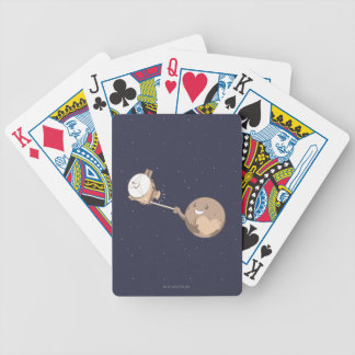 Pluto Selfie Bicycle Playing Cards