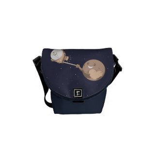 Pluto Selfie Courier Bag