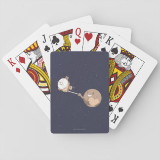 Pluto Selfie Playing Cards