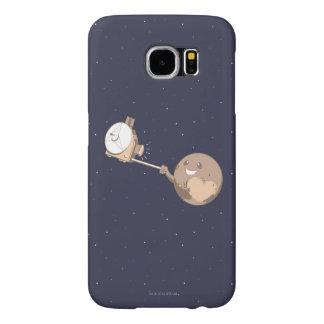 Pluto Selfie Samsung Galaxy S6 Cases