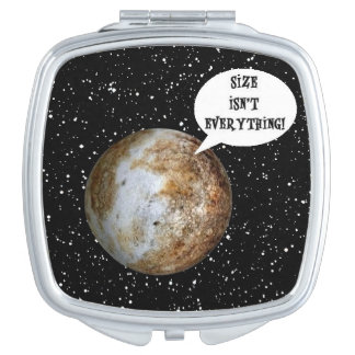 PLUTO - SIZE ISN'T EVERYTHING! (solar system) ~.jp Vanity Mirrors