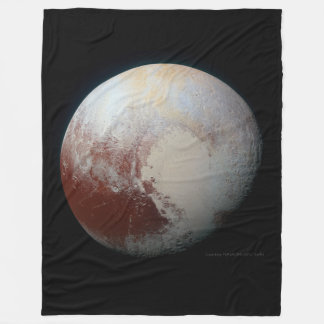 Pluto - The Largest Dwarf Planet Fleece Blanket