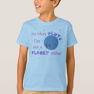 pluto was a planet shirt