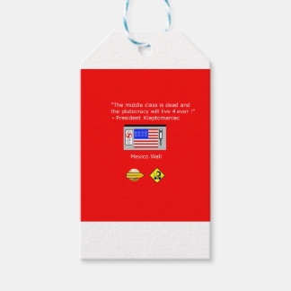 Plutocracy 4 ever gift tags