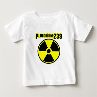plutonium239 radiation symbol baby T-Shirt
