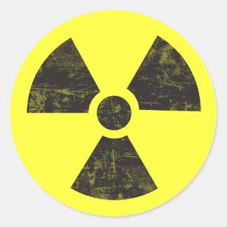 Plutonium - PU Classic Round Sticker