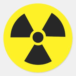 plutonium - Transuranic radioactive element Round Sticker