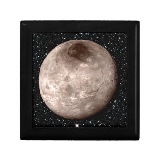 PLUTO'S MOON CHARON star background (solar system) Gift Box