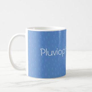 Pluviophile - Bright Basic White Mug