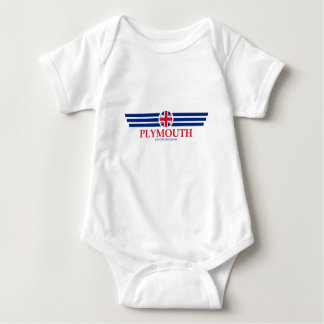 Plymouth Baby Bodysuit