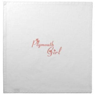 Plymouth Girl Napkin