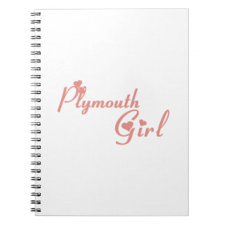 Plymouth Girl Notebooks