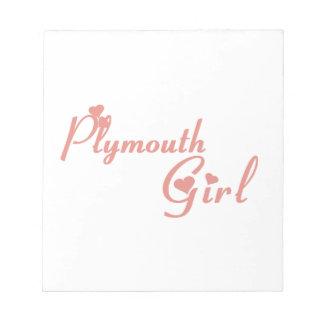 Plymouth Girl Notepad