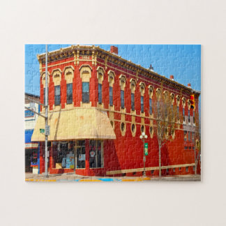 Plymouth Indiana. Jigsaw Puzzle