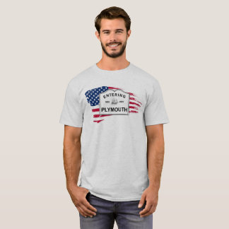 Plymouth MA 400th Anniversary T-Shirt