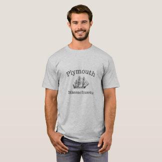 Plymouth Massachusetts Ship T-Shirt