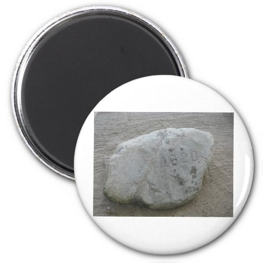 Plymouth Rock 1620 Magnet