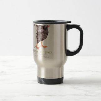 PLYMOUTH ROCK HEN, tony fernandes Travel Mug