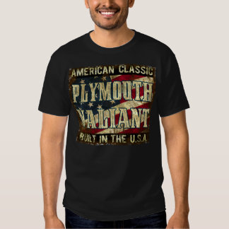 Plymouth Valiant - Classic Car Built in the USA T Shirt