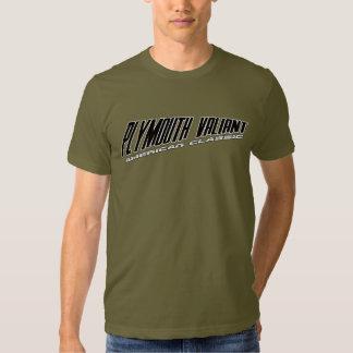 Plymouth Valiant - Slanted Design American Classic T-shirts