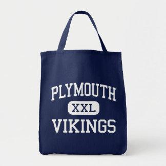 Plymouth - Vikings - High - Plymouth Tote Bag