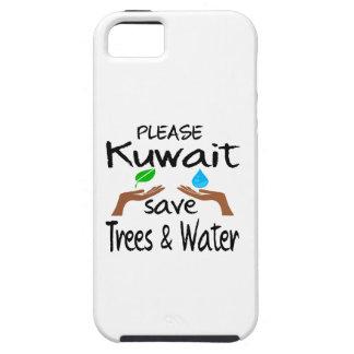 Plz Kuwait Save Tree & Water iPhone 5 Case