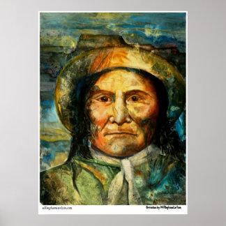 """PMACarlson """"Geronimo"""" Poster"""