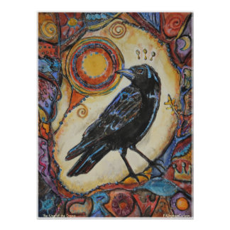 PMACarlson King of the Crows Poster