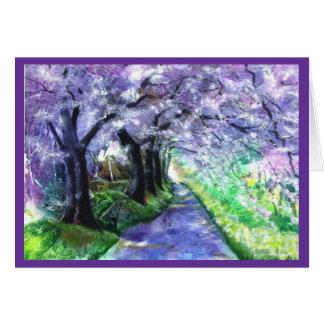 PMACarlson Purple Pathway Card