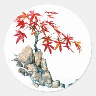 PMACarlson Red Maple Bonsai Sticker
